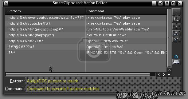 SmartClipboard ActionEditor